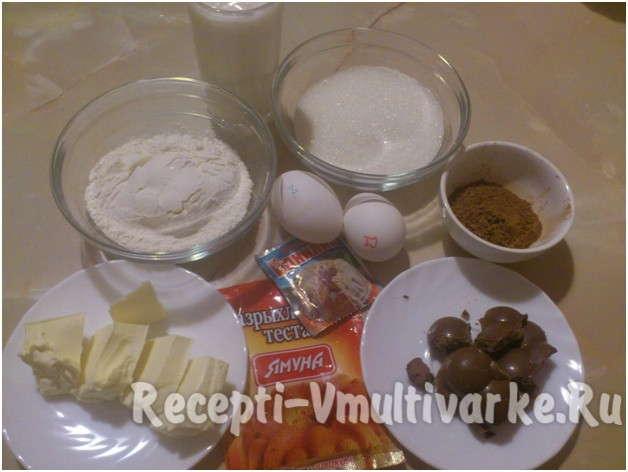 подготовить яйца, муку и масло