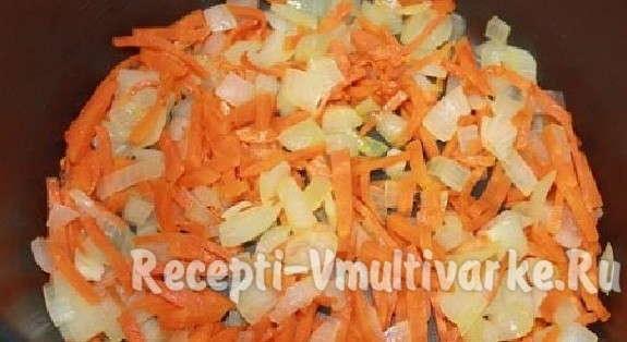 нарезать морковь, лук и другие овощи