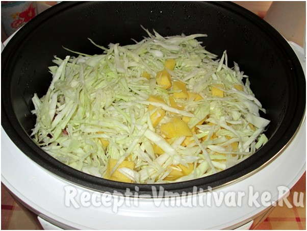 добавить капусту