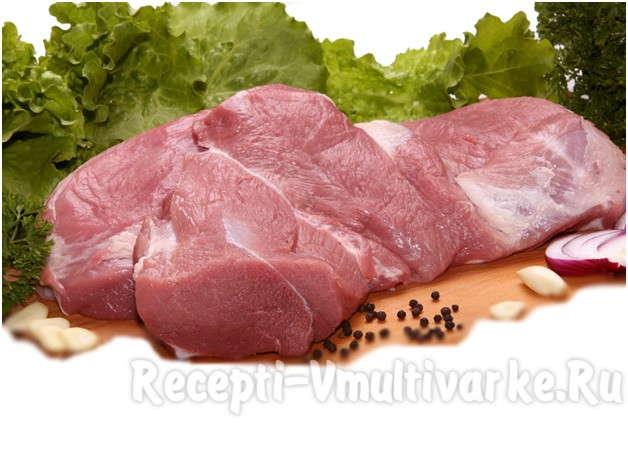 возьмите сочный кусок свинины