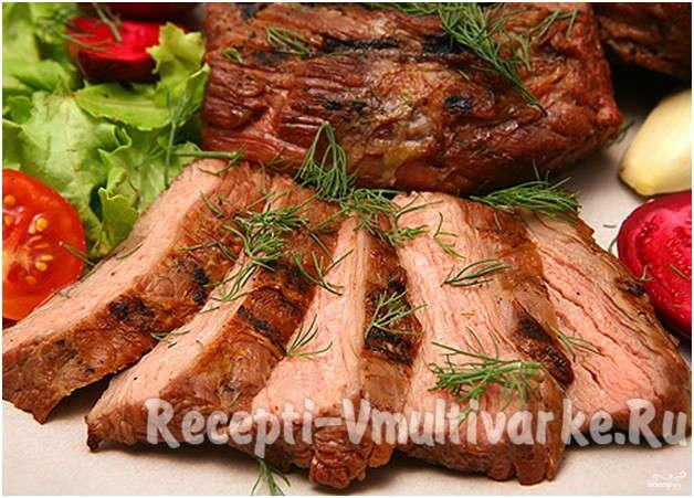сочные куски мяса
