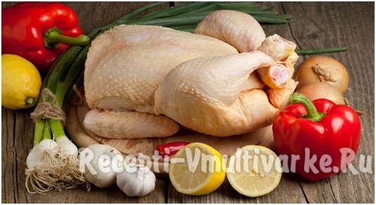 взять курицу с лимоном и чесноком