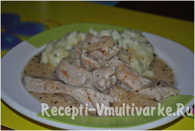 аппетитное блюдо из мяса