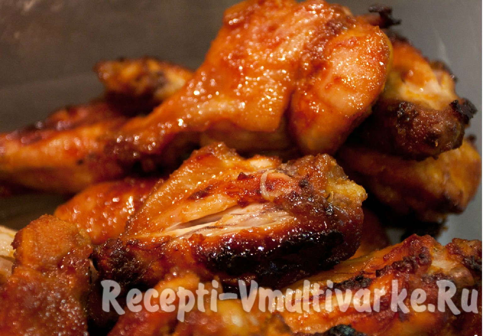 аппетитные кусочки курицы