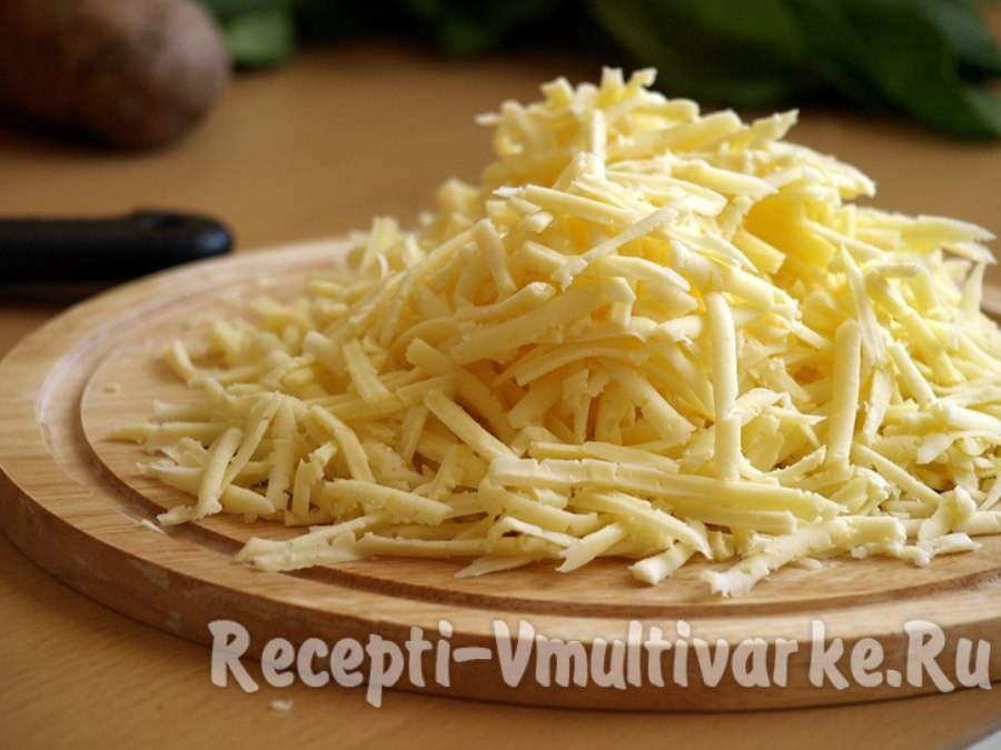 мелко нарежьте сыр