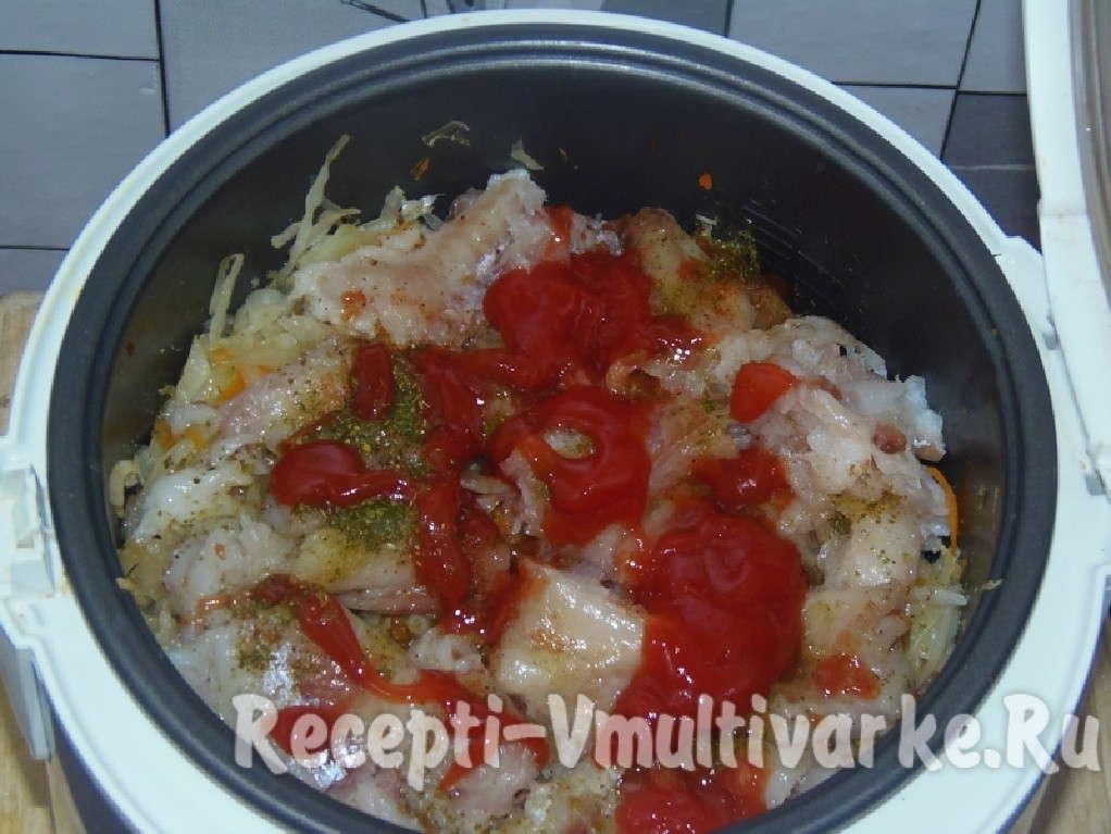 добавить помидор или пасту