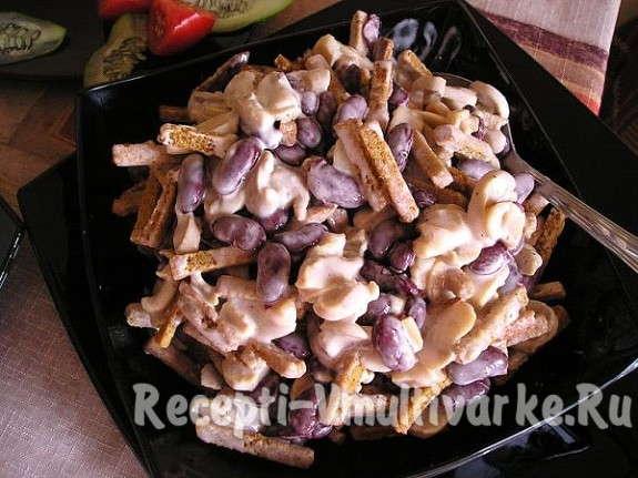 Блюдо из костей свинины