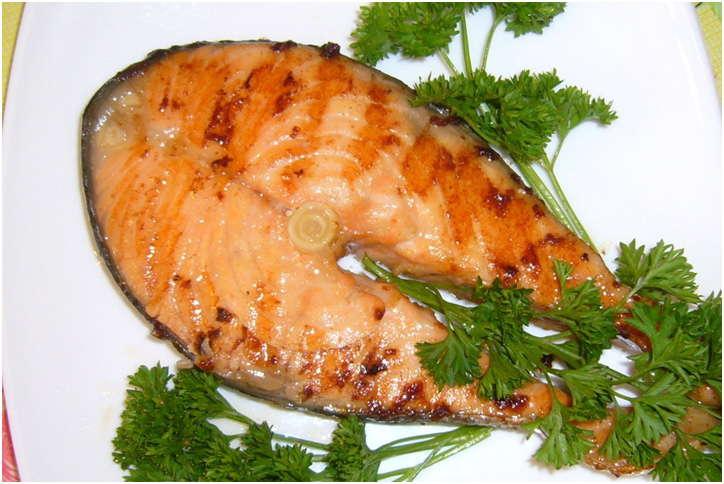 вкусное блюдо из рыбки
