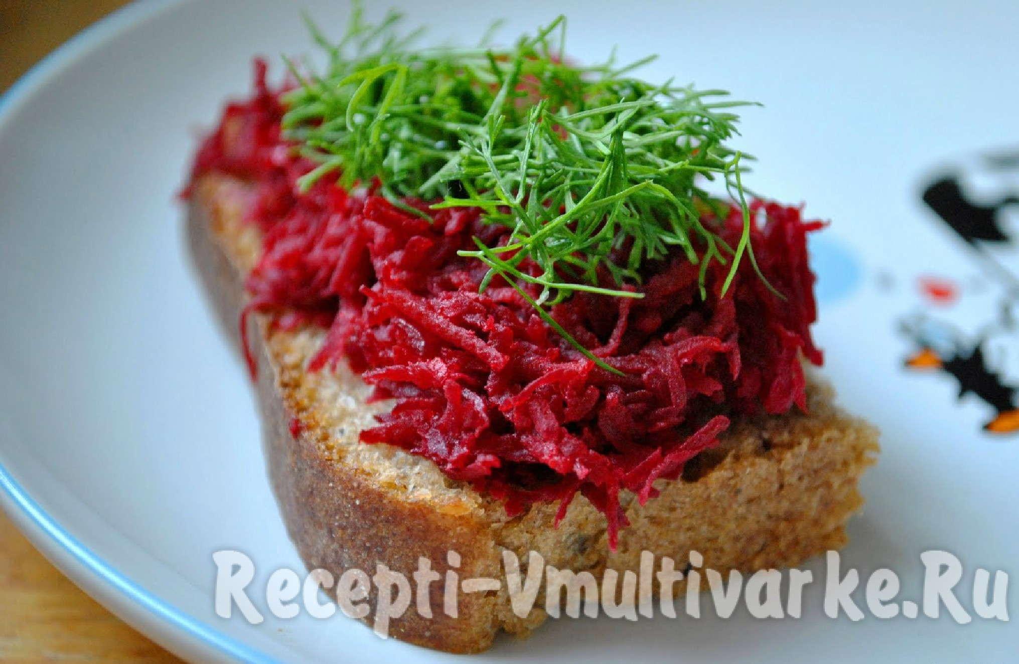 шикарный бутерброд с овощами