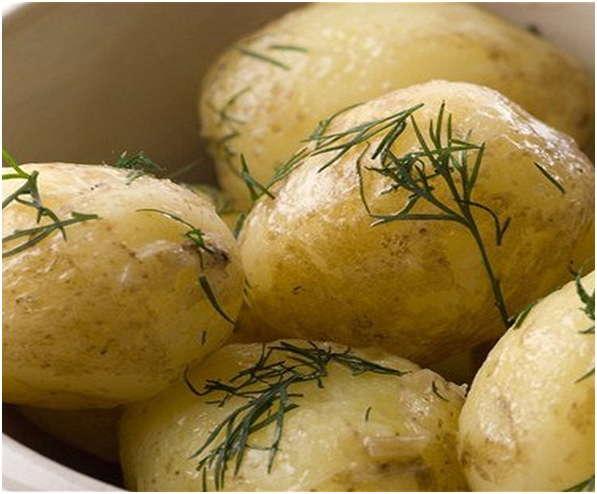 картошечка с зеленью
