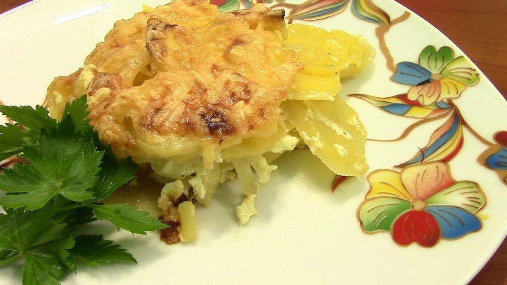 запеченое блюдо из картошки
