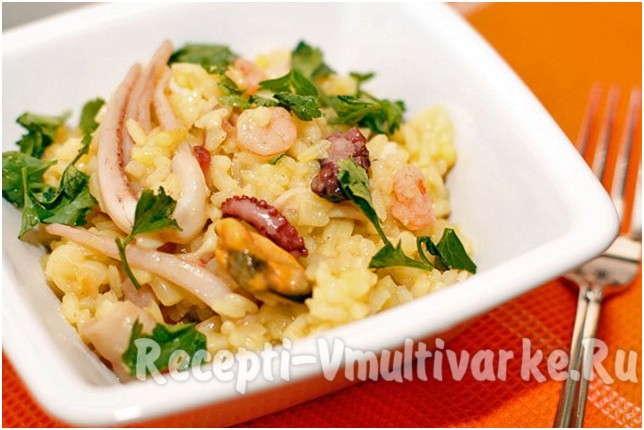 вкусное блюдо с рисом