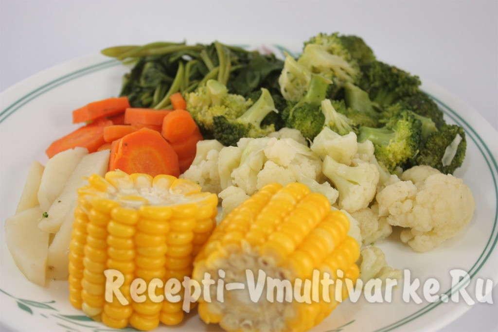 блюдо с кукурузой
