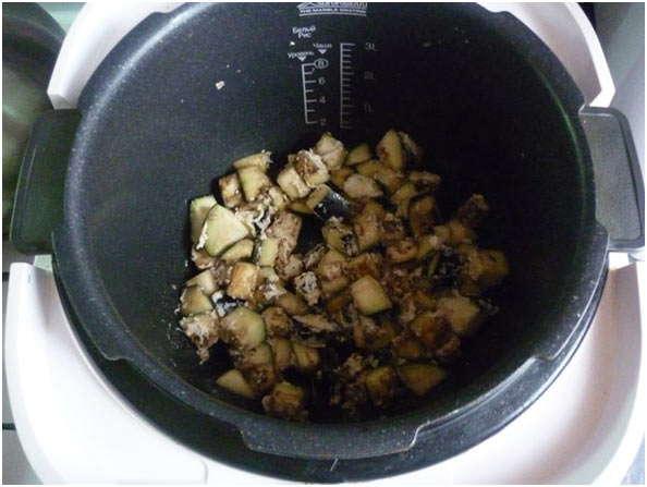 добавить сырые овощи