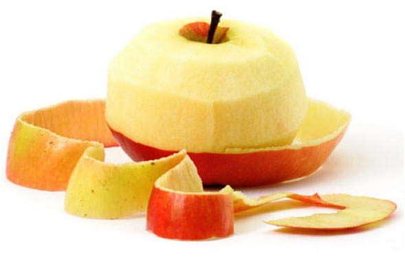 почистить плоды