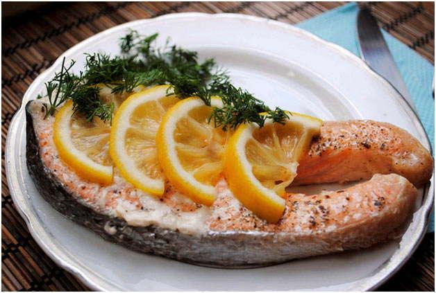 вкуснейшая рыбка на пару