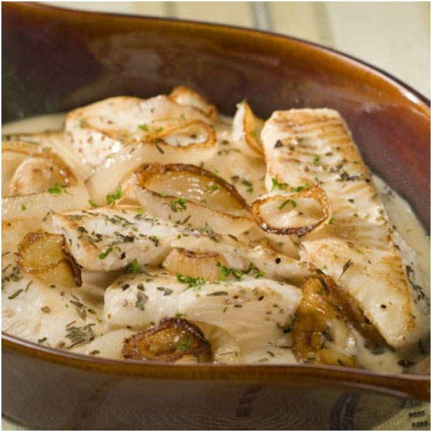 популярное рыбное блюдо