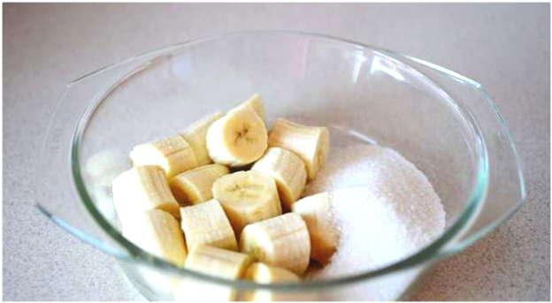 бананы с сахаром