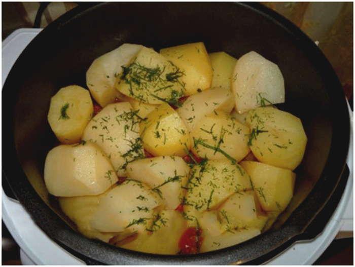 Кролик в мультиварке с картошкой рецепт с фото тушеный