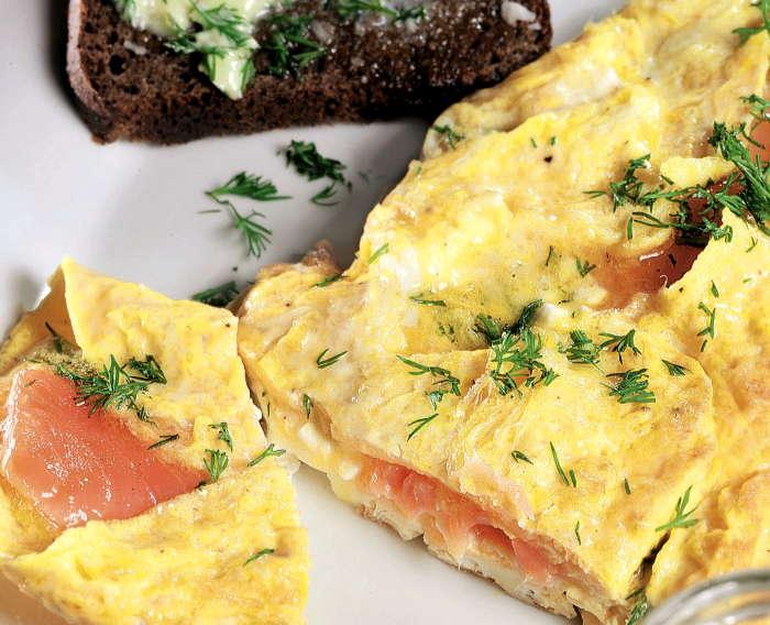 яйца с рыбой