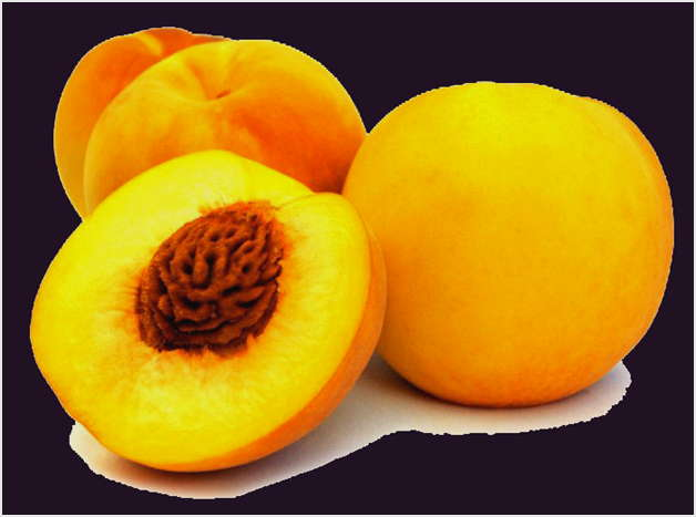 нарезать персики