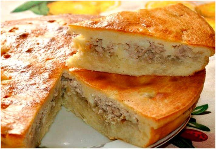Как приготовить пирог с курицей и картошкой в духовке рецепт