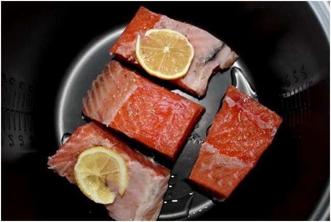 Красная рыба с лимоном в мультиварке рецепты с фото