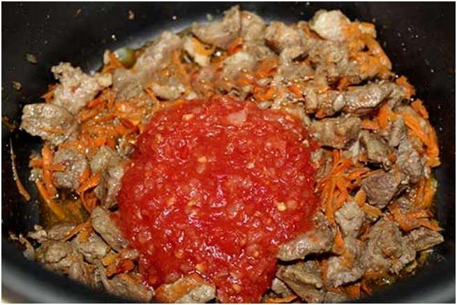 выложить томат