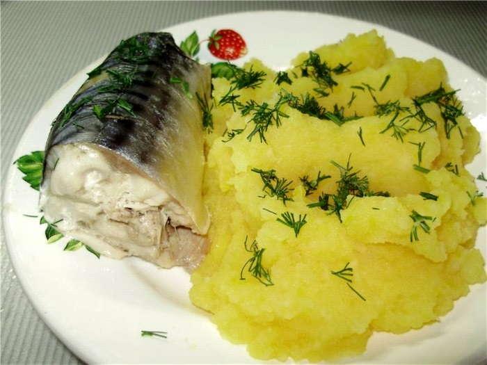 Рыба на пару в мультиварке с гарниром рецепты фото