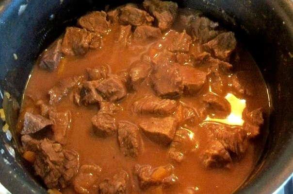 Тушеная говядина куском в мультиварке рецепты с фото
