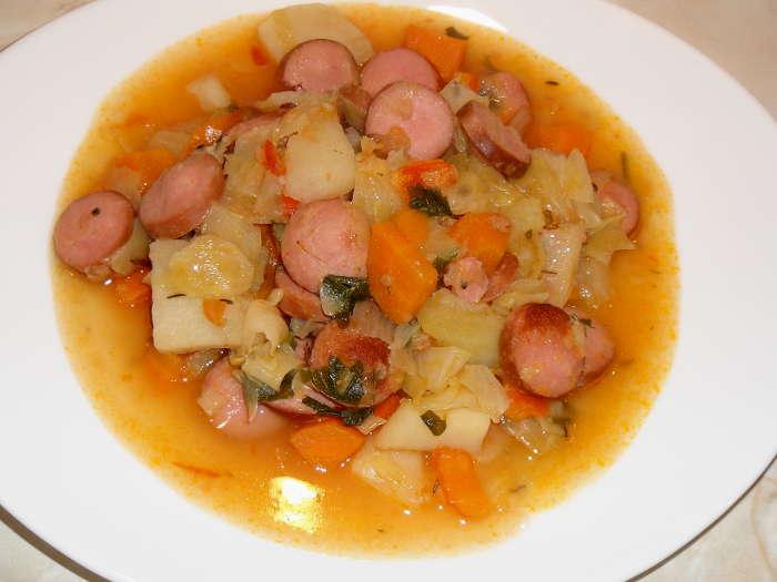 Блюда из одной картошки
