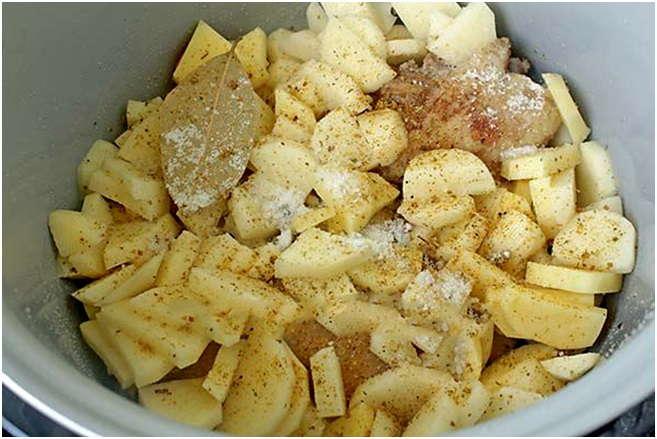 утка тушеная с картошкой рецепты