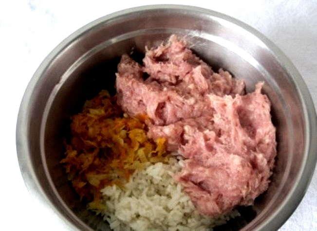 добавить мясо