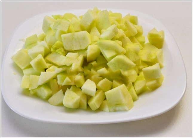 нарезать плоды