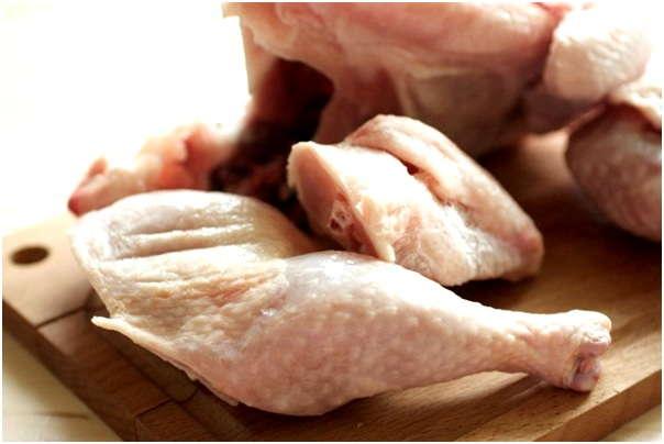 разморозить мясо