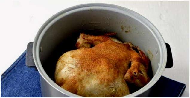 Целая курица в мультиварке редмонд рецепты с фото
