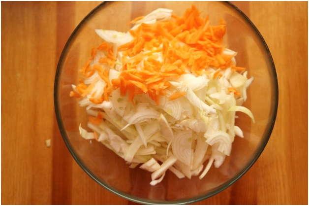 Салат капуста морковь фото