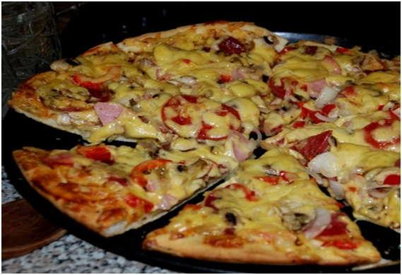 Пиццу в мультиварке рецепты 59