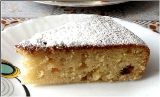 ароматный десерт
