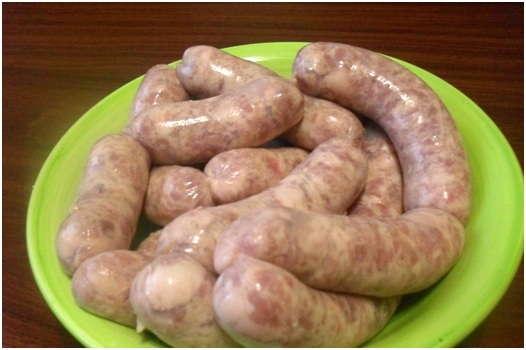 готовые колбаски