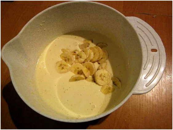 добавьте бананы