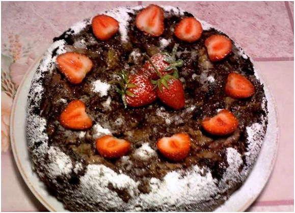 шикарный пирог