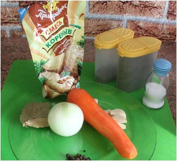 специи и овощи