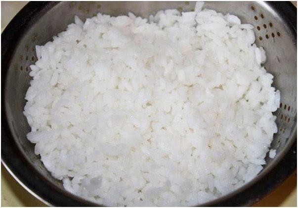 промыть рис
