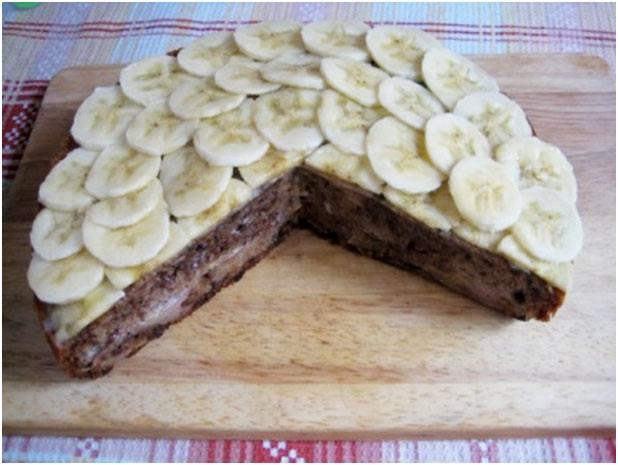 украсить бананом